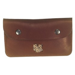 068B Leather Pouch 10 bullets
