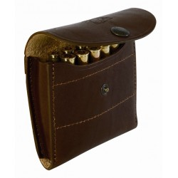 070B Leather pouch 10 bullets