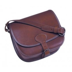 105BC Leather cartridge bag