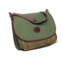 382 Green canvas Game bag